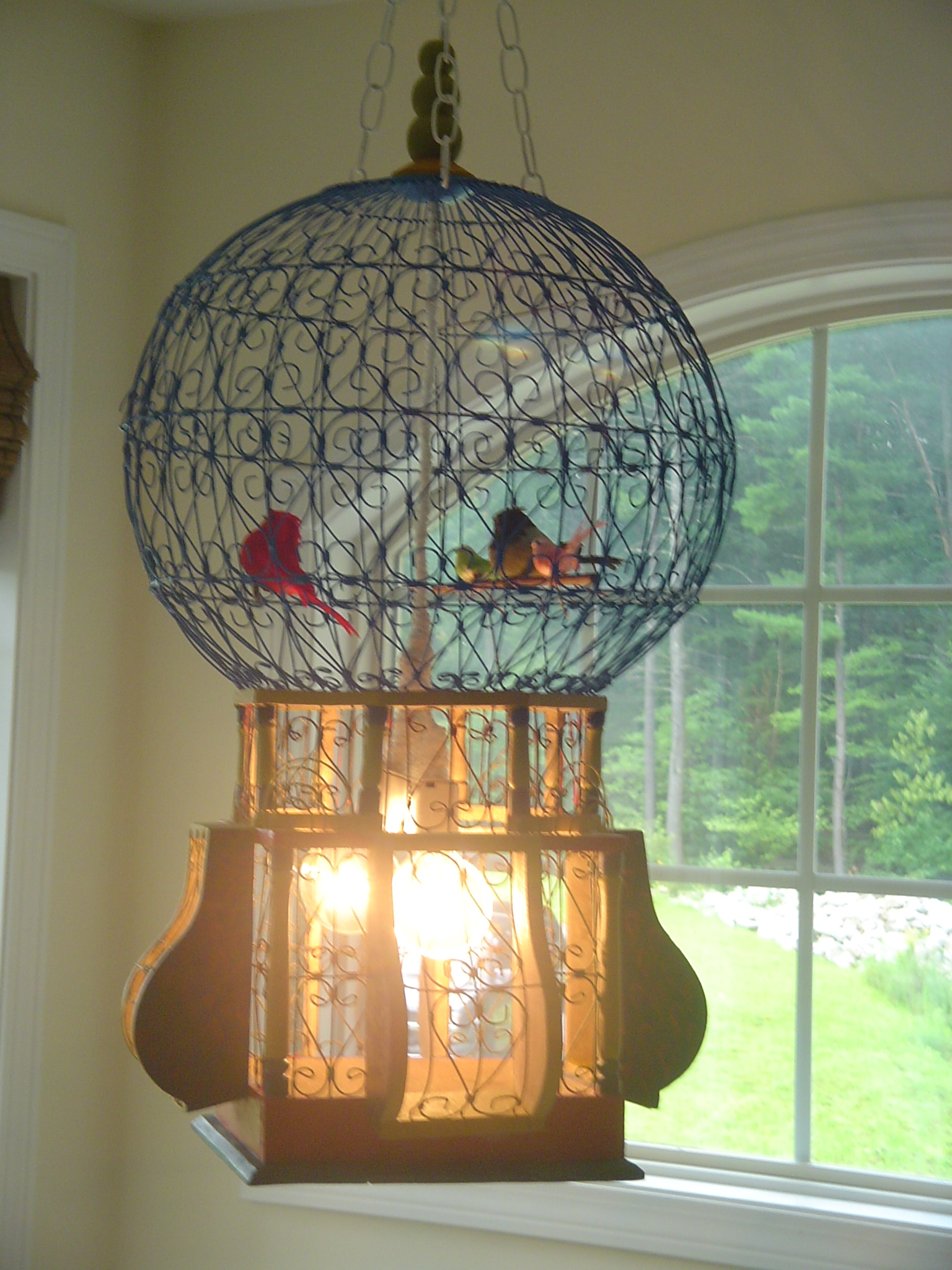 Birdcage chandelier curio lair nayanika aloadofball Image collections